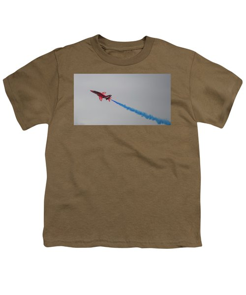Red Arrow Blue Smoke - Teesside Airshow 2016 Youth T-Shirt