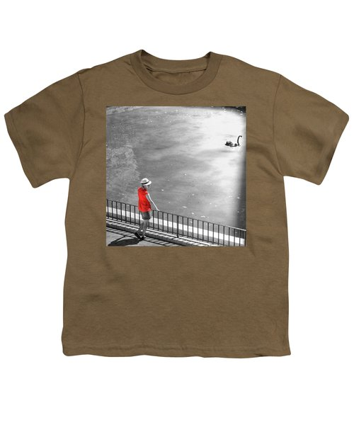 Red Shirt, Black Swanla Seu, Palma De Youth T-Shirt