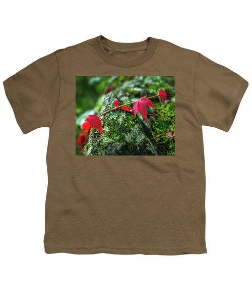 Youth T-Shirt featuring the photograph Red Vine by Bill Pevlor