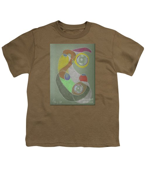Roley Poley Vertical Youth T-Shirt by Rod Ismay