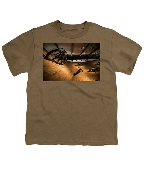 Youth T-Shirt featuring the photograph Rounding The Bend by Randy Scherkenbach