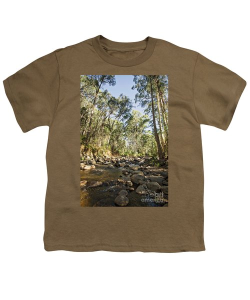 Youth T-Shirt featuring the photograph Rubicon River by Linda Lees