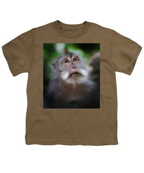 Sacred Monkey Forest Sanctuary Youth T-Shirt