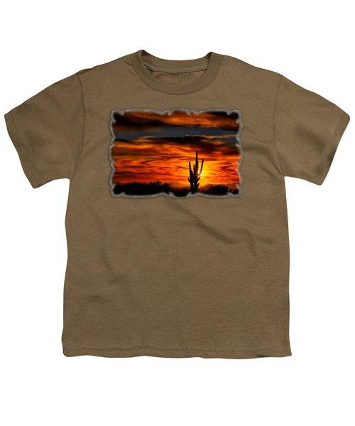 Saguaro Sunset H31 Youth T-Shirt