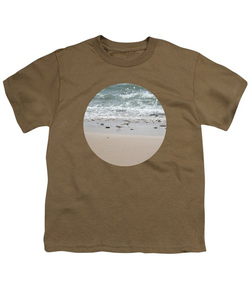Sandpipers In Tideland Youth T-Shirt
