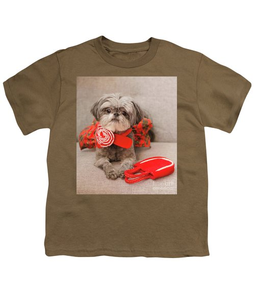 Scarlett And Red Purse Youth T-Shirt
