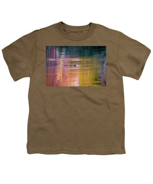 Youth T-Shirt featuring the photograph Sea Of Color by Bill Wakeley