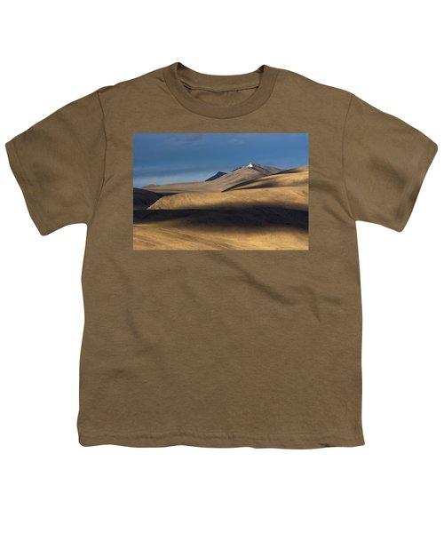 Shadows On Hills Youth T-Shirt by Hitendra SINKAR