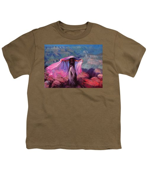 She Danced By The Light Of The Moon Youth T-Shirt
