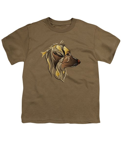 Shepherd Dog In Profile Youth T-Shirt