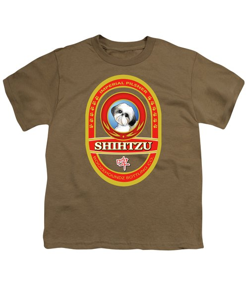 Shih Tzu Imperial Pilsner Youth T-Shirt