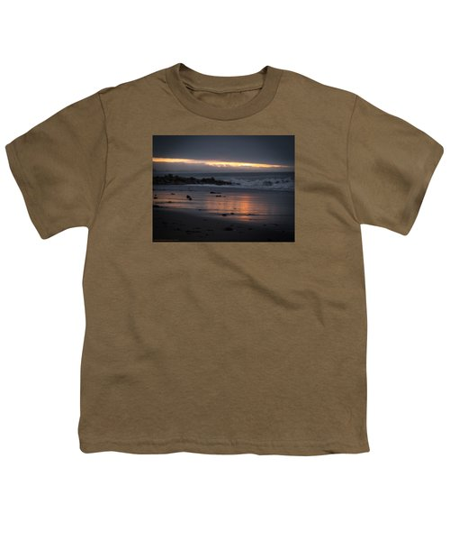 Youth T-Shirt featuring the photograph Shining Sand by Lora Lee Chapman