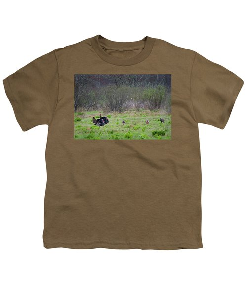 Youth T-Shirt featuring the photograph Showing Off by Bill Wakeley