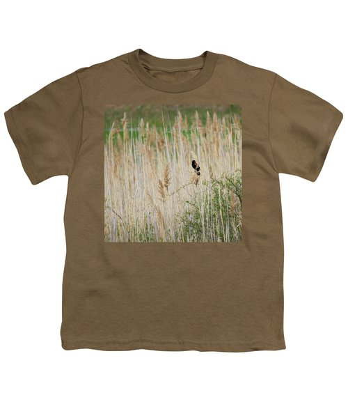 Youth T-Shirt featuring the photograph Sing For Spring Square by Bill Wakeley
