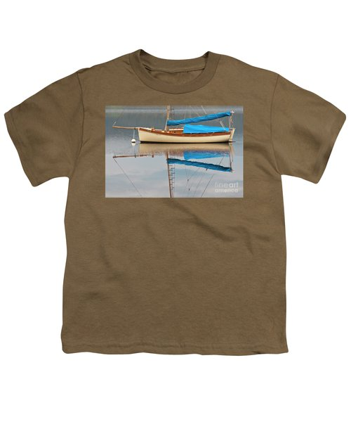 Youth T-Shirt featuring the photograph Smooth Sailing by Werner Padarin
