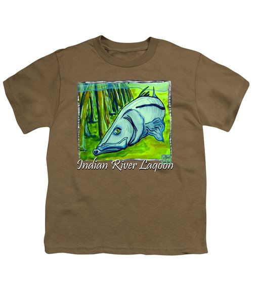 Snook Fish Youth T-Shirt by W Gilroy