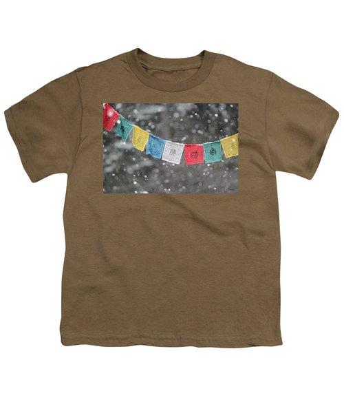 Snow Prayers Youth T-Shirt
