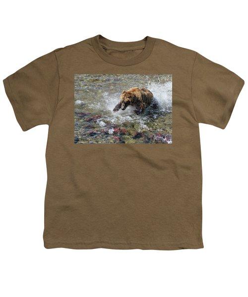 Sockeye In Sight  Youth T-Shirt