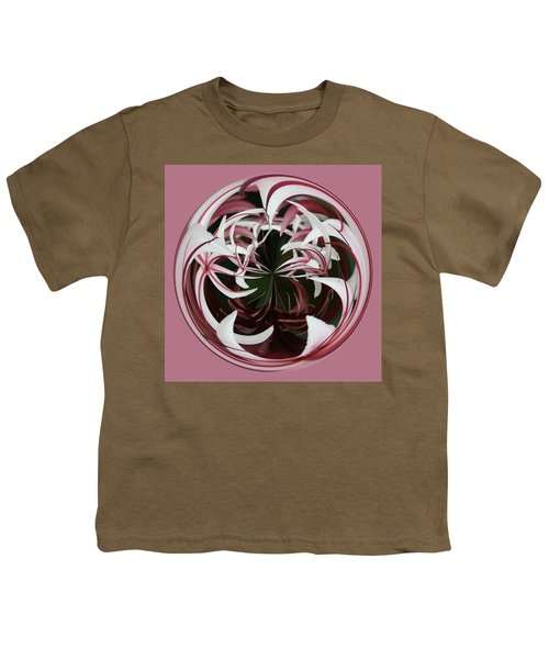Spider Lily Orb Youth T-Shirt by Bill Barber