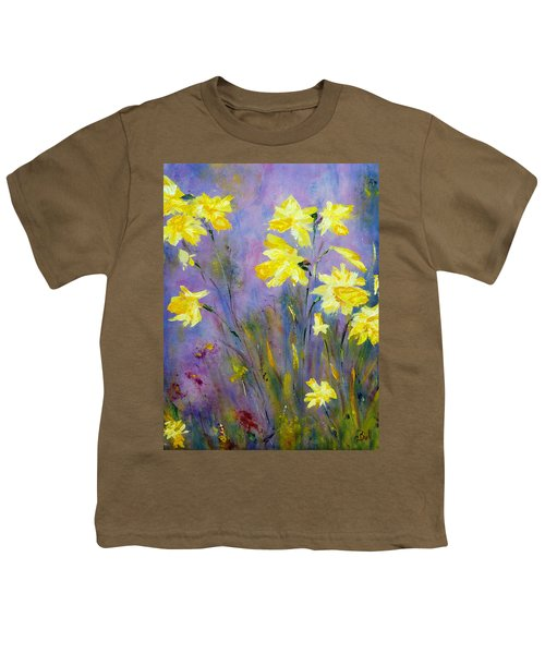 Spring Daffodils Youth T-Shirt