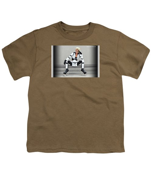 Star Wars By Knight 2000 Photography- Clone Trooper Youth T-Shirt
