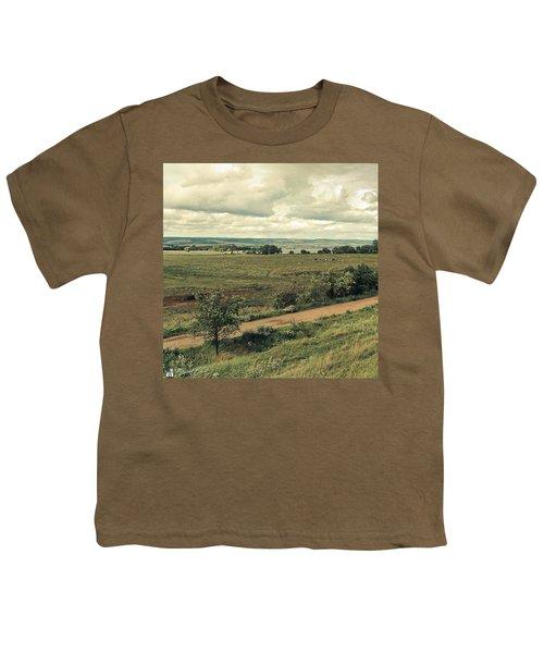 Stausee Kelbra  #nature  #flowers Youth T-Shirt by Mandy Tabatt