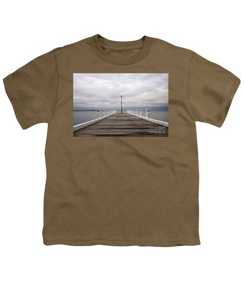 Youth T-Shirt featuring the photograph Steampacket Quay by Linda Lees