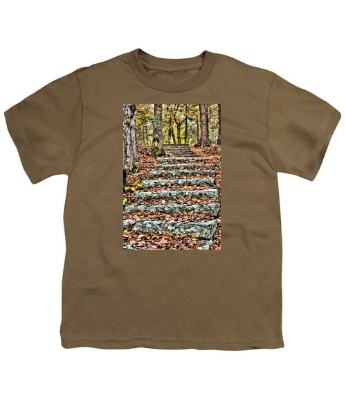 Step Into The Woods Youth T-Shirt