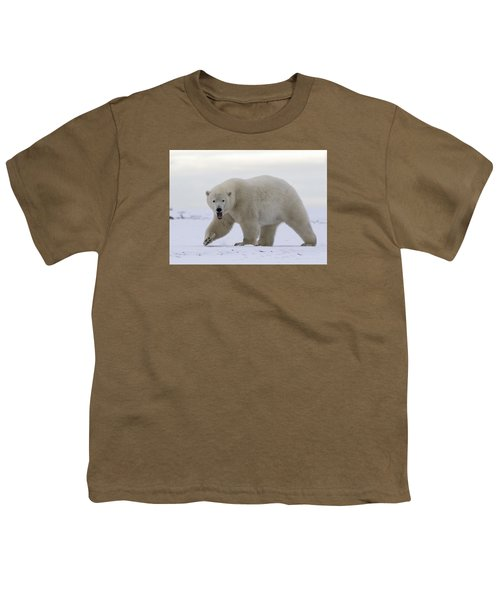 Stepping Out In The Arctic Youth T-Shirt