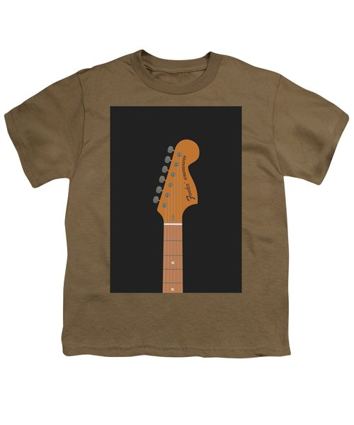 Stratocaster Guitar Youth T-Shirt