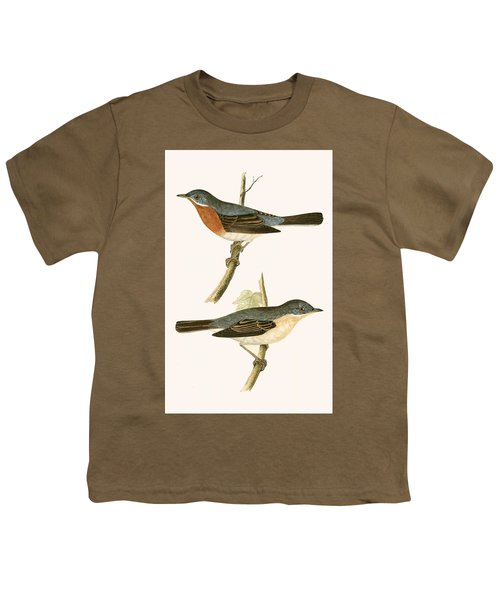 Sub Alpine Warbler Youth T-Shirt by English School