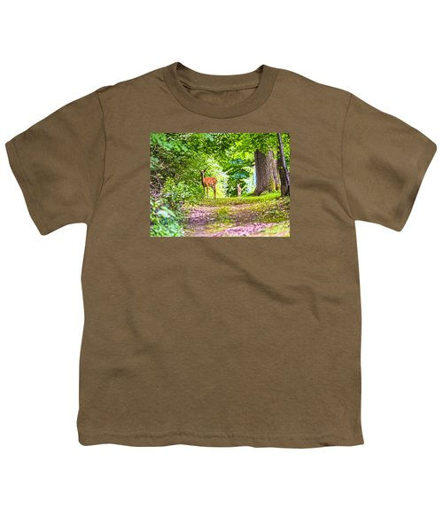 Youth T-Shirt featuring the photograph Summer Stroll by Anthony Baatz