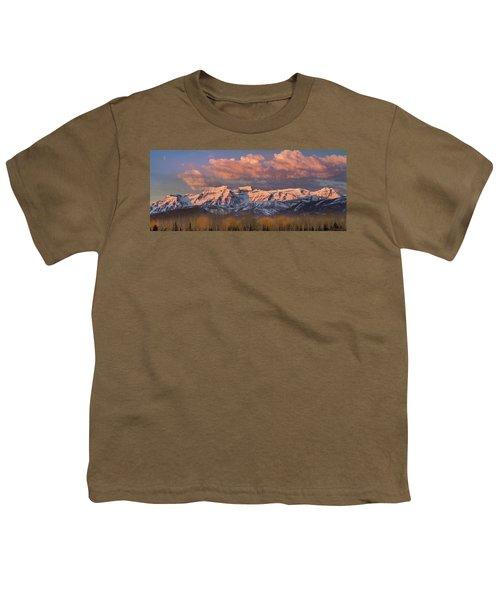Sunrise On Timpanogos Youth T-Shirt