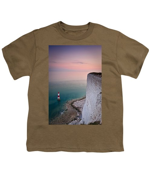 Sunset At Beachy Head Youth T-Shirt