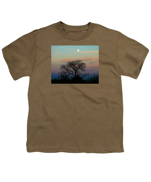 Sunset Moon Youth T-Shirt