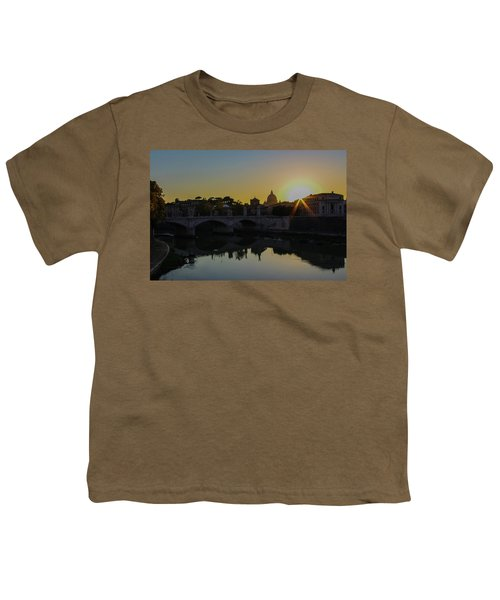 Sunset Over St Peters Youth T-Shirt