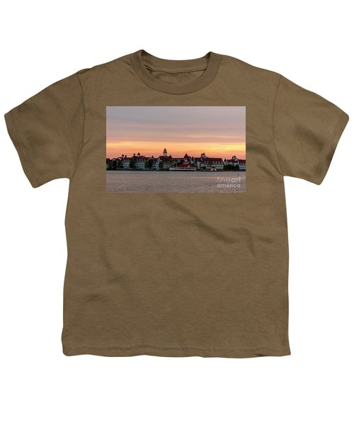 Sunset Over The Grand Floridian Youth T-Shirt