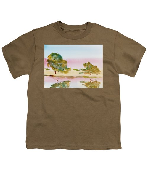 Reflections At Sunrise Youth T-Shirt