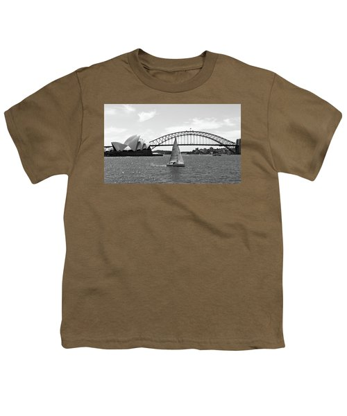 Sydney Harbour No. 1-1 Youth T-Shirt by Sandy Taylor