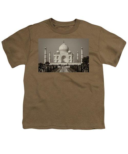 Taj Mahal Youth T-Shirt by Hitendra SINKAR