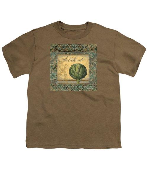 Tavolo, Italian Table, Artichoke Youth T-Shirt
