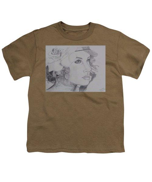 Taylor Swift Youth T-Shirt by Tanmaya Chugh