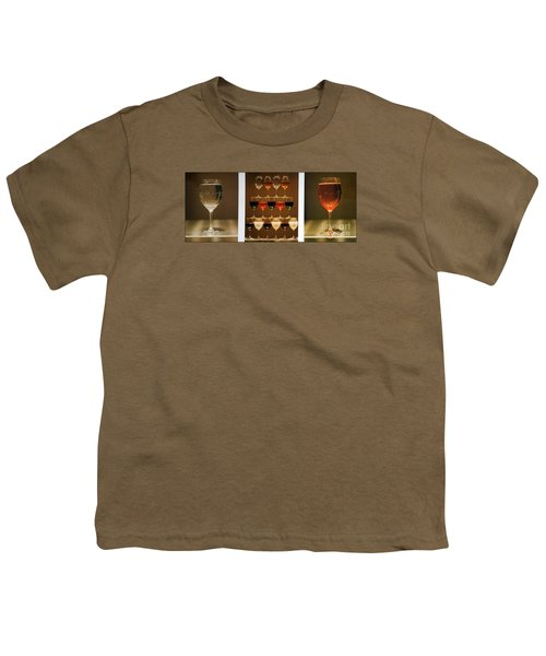 Youth T-Shirt featuring the photograph Tears And Wine by James Lanigan Thompson MFA