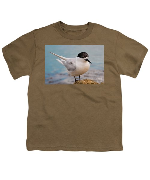 Youth T-Shirt featuring the photograph Tern 1 by Werner Padarin
