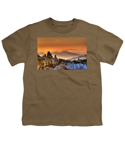 The Ahh Moment Youth T-Shirt by Lynn Geoffroy