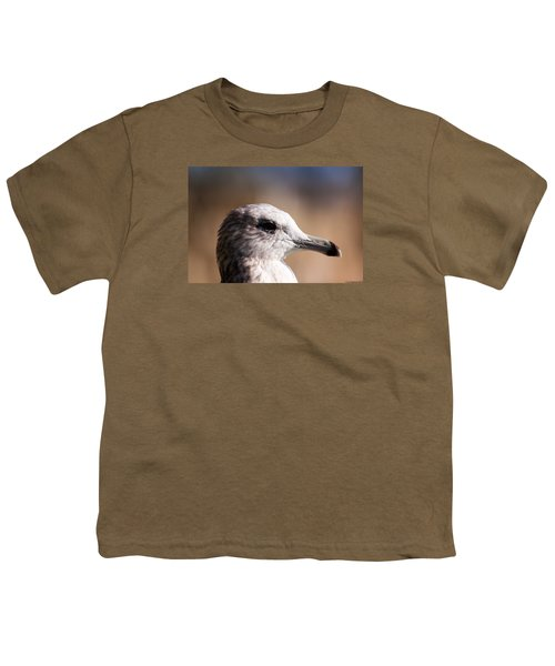 Youth T-Shirt featuring the photograph The Best Side Of The Gull by Lora Lee Chapman