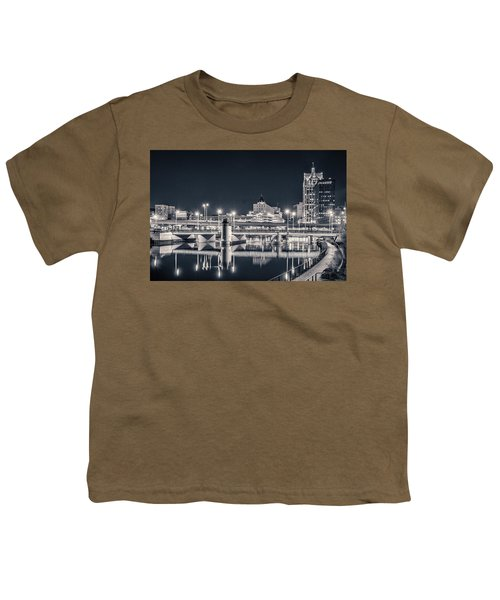 Youth T-Shirt featuring the photograph The Bright Dark Of Night by Bill Pevlor