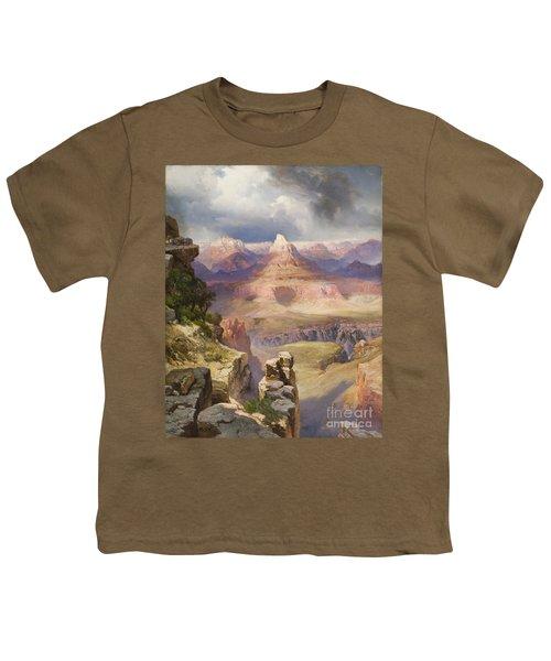 The Grand Canyon Youth T-Shirt by Thomas Moran
