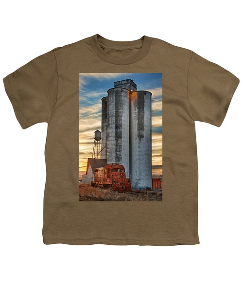 The Great Western Sugar Mill Longmont Colorado Youth T-Shirt