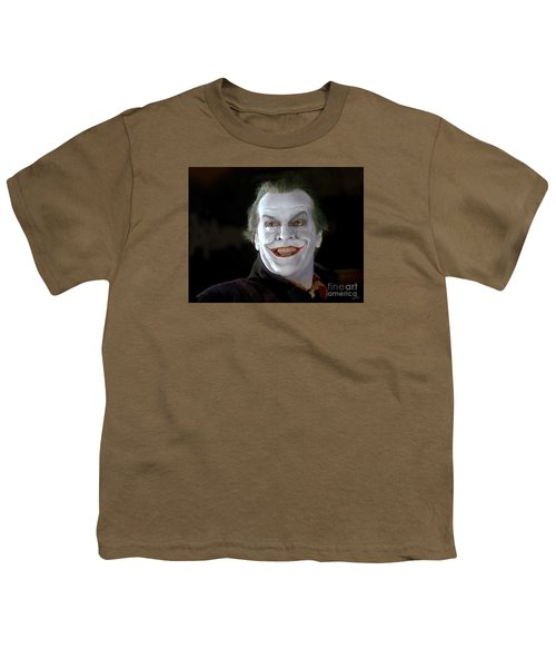 The Joker Youth T-Shirt by Paul Tagliamonte